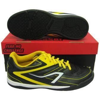 รองเท้ากีฬา รองเท้าฟุตซอล BREAKER BK-122 ดำเหลือง