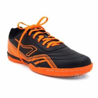 Breaker รองเท้ากีฬาฟุตซอล รุ่น BK111 (สีดำส้ม)