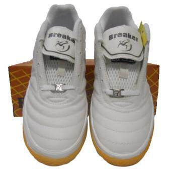Breaker รองเท้ากีฬา รองเท้าฟุตซอล BREAKER BK-13 ขาว - 3