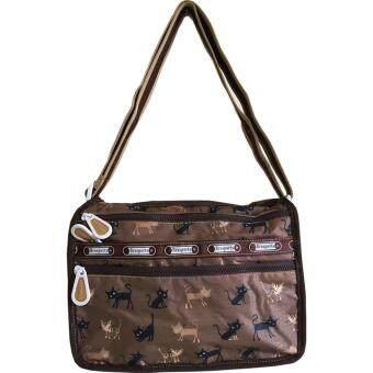 กระเป๋าสะพายข้าง Brosports รุ่น V105 (brown)