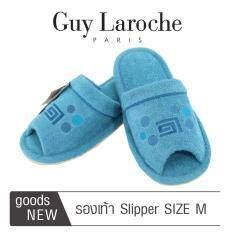 รองเท้าสวมใส่ในบ้านและสำนักงาน by GUY LAROCHE ( Size M ) สีเขียว