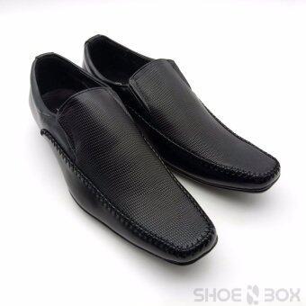 Cabaye รองเท้าคัชชูผู้ชาย รองเท้าทางการ CA113 - Black