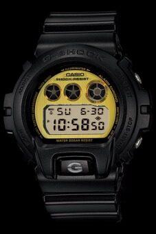 Casio G-Shock นาฬิกาข้อมือผู้ชาย สีดำ สายเรซิน รุ่น DW-6900PL-1DR