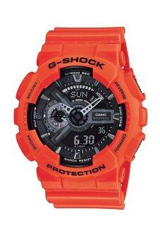 อยากขาย นาฬิกา Casio G-Shock สีส้ม สายเรซิ่น รุ่น GA-110MR-4A