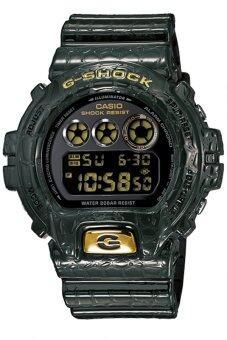 Casio นาฬิกาข้อมือ G shock Standard Digital รุ่น DW 6900CR 3DR สีดำ