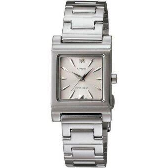 Casio นาฬิกาข้อมือ LTP-1237D-7A2 (Silver/White)