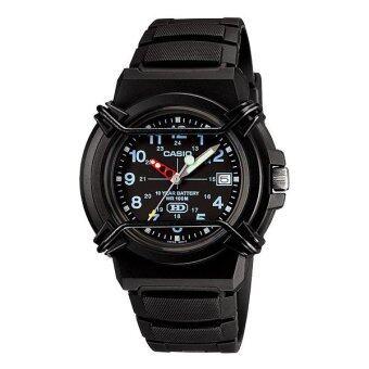 รีวิวพันทิป Casio นาฬิกาข้อมือ Standard Analog รุ่น HDA-600B-1BV (Black)