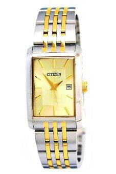 ซื้อ/ขาย CITIZEN Quartz นาฬิกาข้อมือผู้ชาย สองกษัตริย์ สายสแตนเลส รุ่น BH1674-57P