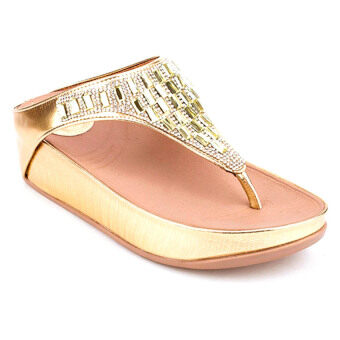 Classy รองเท้าแตะลำลอง รุ่น CH7703-128 - Gold
