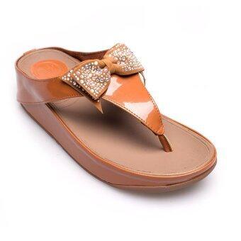 Classy รองเท้าผู้หญิง รองเท้าแฟชั่น - W6651-502 (Tan)