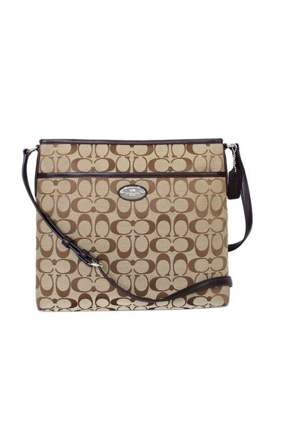 a5b5e0f5a3 Coach 12CM Signature File Crossbody Handbag 36378