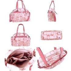 Coach 18376 Addison Signature Diaper Baby Bag Multifunction Tote Pink