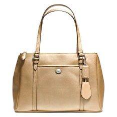 Coach กระเป๋าสะพายสำหรับผู้หญิง รุ่น 25669 สีทอง