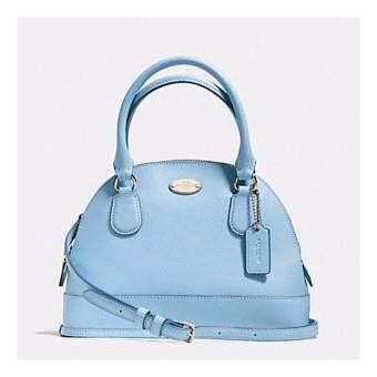 กระเป๋า COACH F34090 IMPBU ใหม่ มือ1 แท้ 100 percent จาก shop USA รุ่น :MINI CORA DOMED SATCHEL IN CROSSGRAIN LEATHER