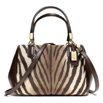 รีวิว Coach Madison Mini Satchel Bag รุ่น 50507 - Zebra brown