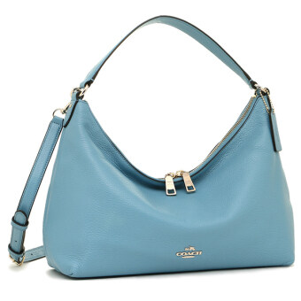 เปรียบเทียบราคา Coach Pebble Leather East West Celeste Convertible Hobo Bag SaddleF36628