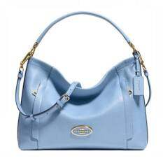 COACH SCOUT HOBO IN PEBBLE LEATHER BAG รุ่น 34312 - Blue