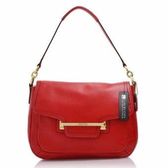COACH TAYLOR LEATHER FLAP SHOULDER BAG