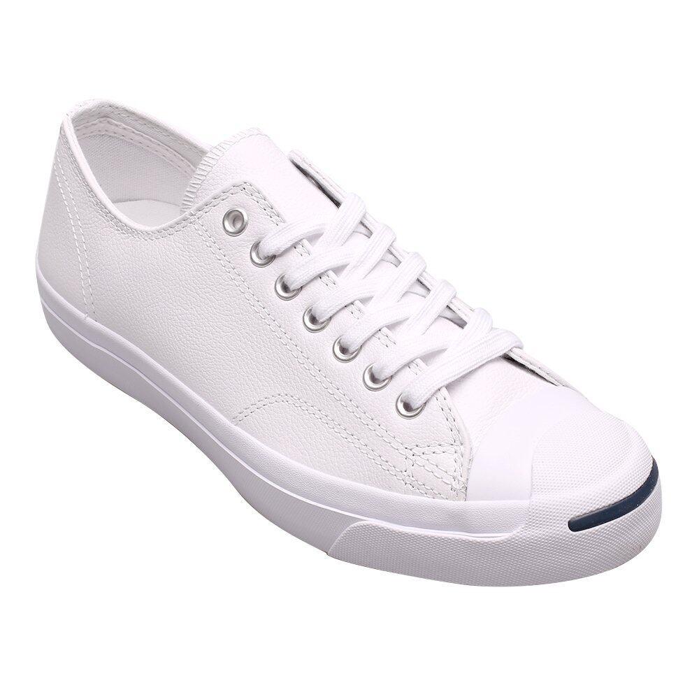 การใช้งาน  กระบี่ CONVERSE รองเท้าผ้าใบ ผู้ชาย/ผู้หญิง รุ่น JACK PURCELL LEATHE OX WHITE - 121006661WW (WHITE)