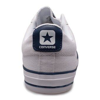 Converse ������������������������������������ ������������������/��������������������� ������������ STAR PLAYER OX WHITE/NAVY - 11100R200WN (WHITE/NAVY) (image 3)