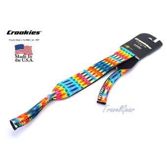 ราคา สายคล้องแว่น Croakies XL รุ่น TD Fire Dart