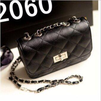 Crvid Fashion กระเป๋าสะพายพาดลำตัว Premium Crossbody (black) ...