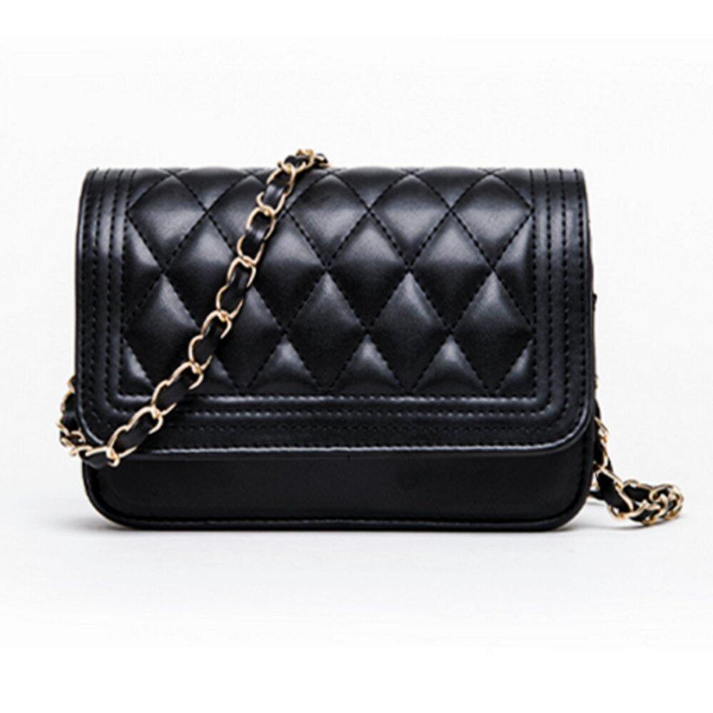 สระแก้ว Crvid shop Fashion Small Bag Women Messenger Bags Soft PU Leather HandbagsCrossbody Bag No 0 7 Black