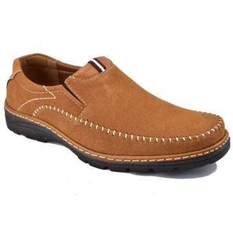 CSB รองเท้าหนังผู้ชาย CSB รุ่น CM290 (สีแทน)