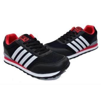 CSB รองเท้าผ้าใบผู้ชาย CSB รุ่น LN90060 (สีดำ) - 5