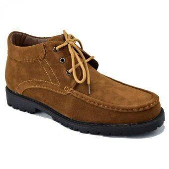 CSBรองเท้าหนังผู้ชาย หุ้มข้อ CSB รุ่น CM971 (สีแทน)