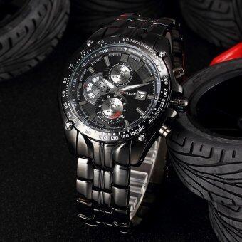 ราคา Curren Watch นาฬิกาข้อมือผู้ชาย Sport Military สายสแตนเลส รุ่น B-04