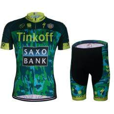 Cycling Jerseys Breathable Bike Clothing Equipaciones Ciclismo GEL Pad Bike Bib Pants (Intl) - intl