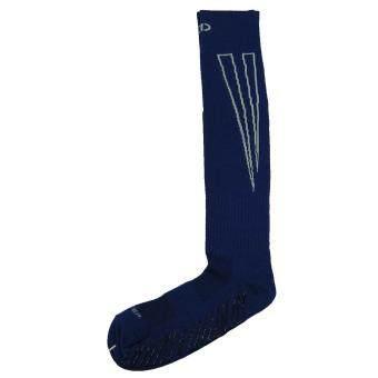 2561 ถุงเท้ากีฬา ถุงเท้าฟุตบอลกันลื่น D-STEP F-02S น้ำเงิน