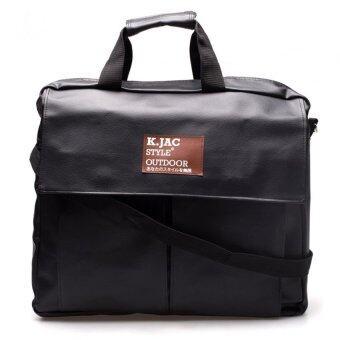 ต้องการขาย DM กระเป๋าสะพายหนัง MSG KCAJ (Black)