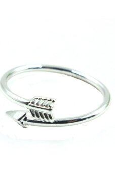 Double Arrow Ring (Silver)