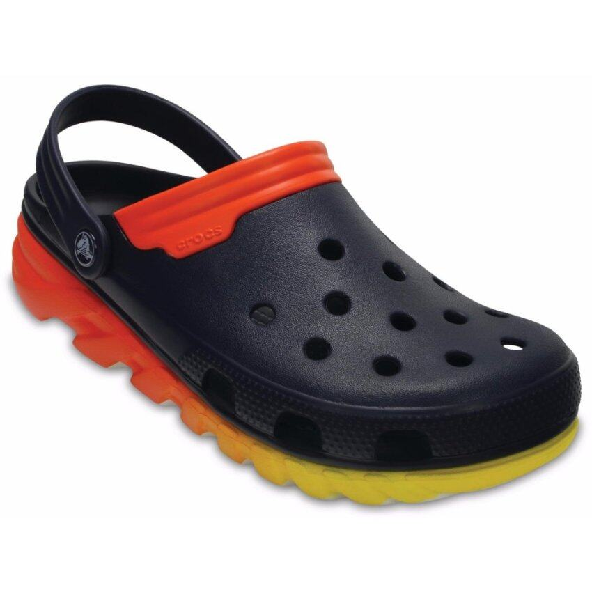 Duet Max Ombre Clog-Navy/Orange