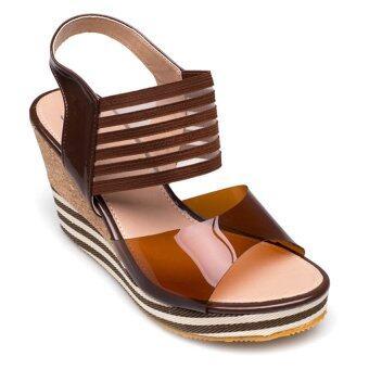 Ease รองเท้าส้นเตารีด รุ่น 13-2 (Brown)