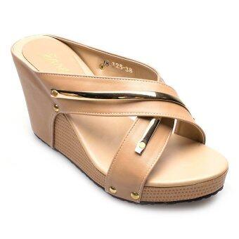 Ease รองเท้าส้นเตารีด รุ่น 18-125 (Tan)