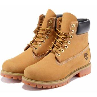 Harga Fashion Boots For Timberland High Women's 10061 (Light Yellow) -intl
