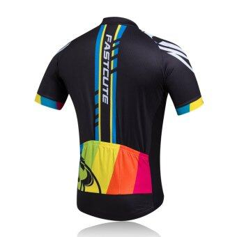 Fastcute Brand Cycling Jersey Short Sleeve Quick Dry Shirt Comfortable Breathable 3D Cushion Tights Sportswear FCS-0406 - 2
