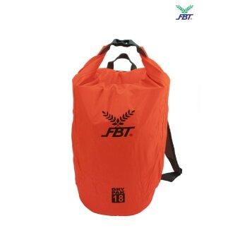FBT กระเป๋าเป้กันน้ำ Dry Packรุ่น Dry Pakสีส้ม ดำ