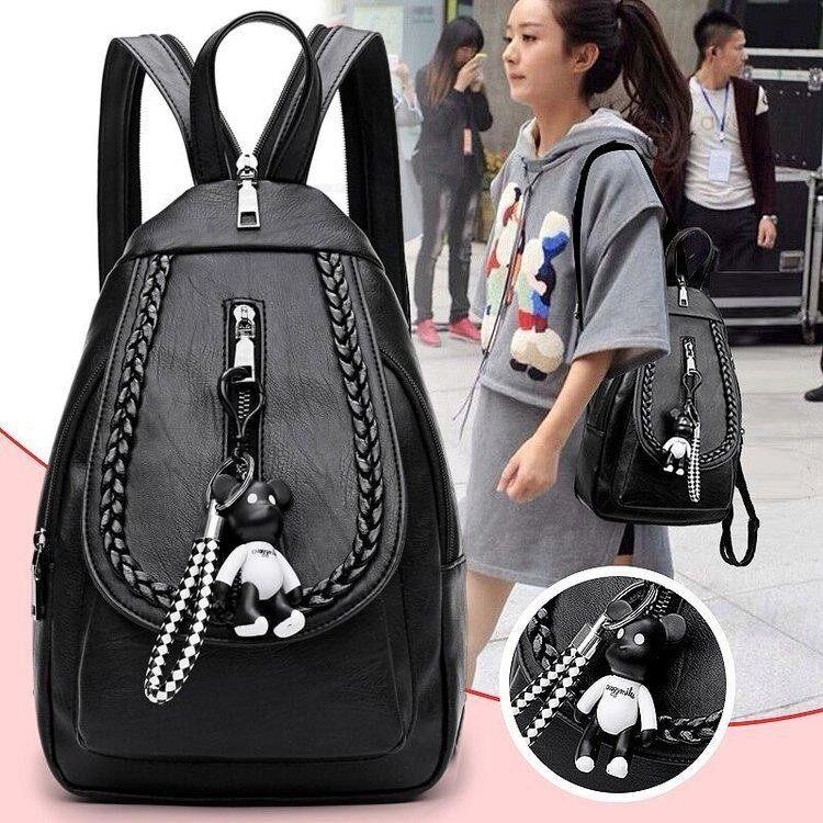กระเป๋าเป้สะพายหลัง นักเรียน ผู้หญิง วัยรุ่น สุราษฎร์ธานี Female mommy bag Oxford Cloth shoulder bag