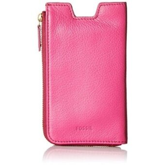 Fossil Rfid Phone Slide Wallet, Hot Pink - intl