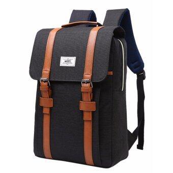 โปรโมชั่นพิเศษ กระเป๋าเป้ กระเป๋าสะพายหลัง กระเป๋าผู้ชาย กระเป๋าแฟชั่นกระเป๋า กระเป๋าเป้สะพายหลัง กระเป๋าเดินทาง กระเป๋าใส่โน๊ตบุ๊ค รุ่น156c - สีดำ