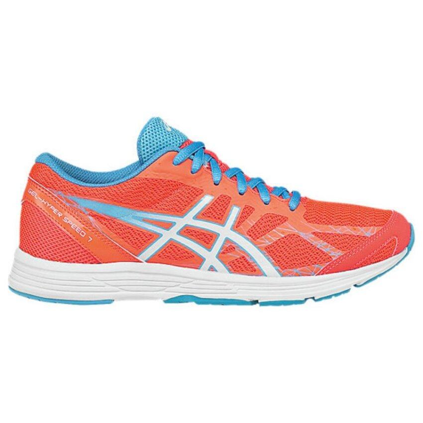 GEL-HYPER SPEED 7-FLASH CORAL/WHITE/TURQUOISE