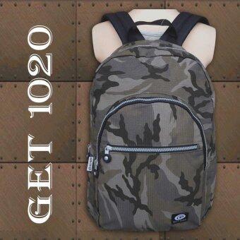 กระเป๋าเป้ กระเป๋าสะพาย แฟชั่น A064soldier (khaki)
