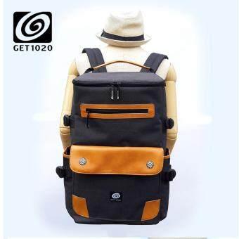 กระเป๋าเป้ กระเป๋าสะพาย แฟชั่น A098oxford (ดำ)