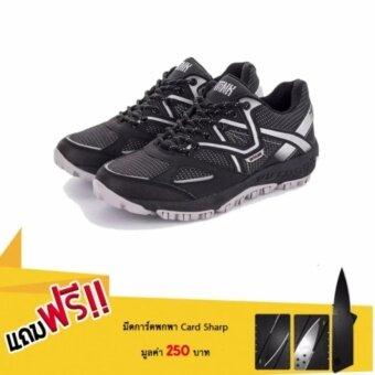 รองเท้าชาย อเนกประสงค์ gp 5 วิ่ง ปั่น เดินเล่น ในคู่เดียว แถมฟรีมีดการ์ด