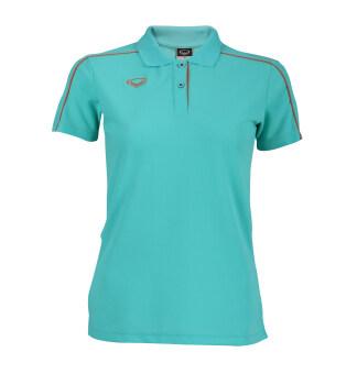 Grand sport เสื้อคอปกหญิงแกรนด์สปอร์ต (สีเขียว)