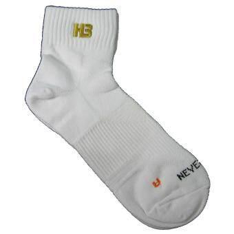 ถุงเท้ากีฬาข้อสั้น H3 Sport Street สีขาว Free Size